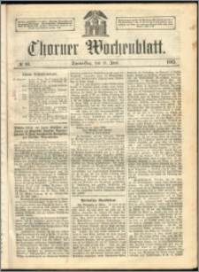 Thorner Wochenblatt 1863, No. 68