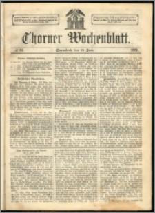 Thorner Wochenblatt 1863, No. 69 + Extra Beilage