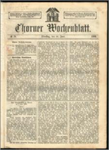 Thorner Wochenblatt 1863, No. 70