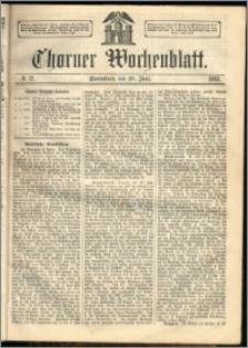 Thorner Wochenblatt 1863, No. 72