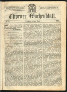 Thorner Wochenblatt 1863, No. 73