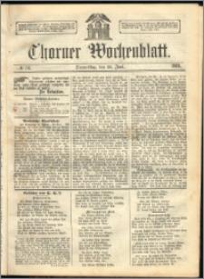 Thorner Wochenblatt 1863, No. 74