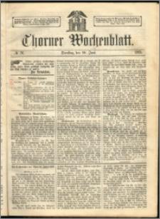 Thorner Wochenblatt 1863, No. 76