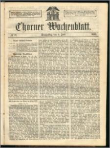 Thorner Wochenblatt 1863, No. 77