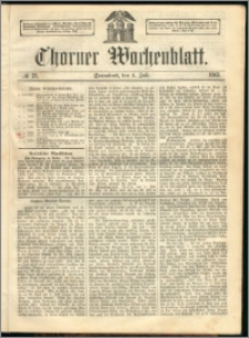 Thorner Wochenblatt 1863, No. 78