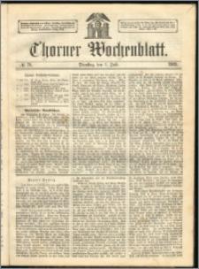 Thorner Wochenblatt 1863, No. 79
