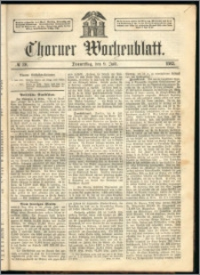 Thorner Wochenblatt 1863, No. 80