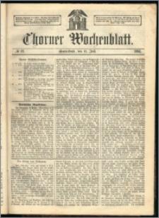 Thorner Wochenblatt 1863, No. 81