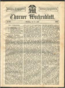 Thorner Wochenblatt 1863, No. 82