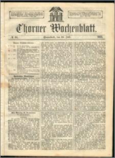 Thorner Wochenblatt 1863, No. 84