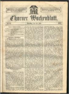 Thorner Wochenblatt 1863, No. 85
