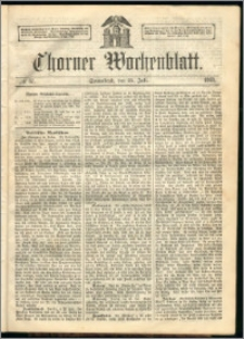 Thorner Wochenblatt 1863, No. 87