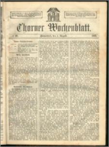 Thorner Wochenblatt 1863, No. 90