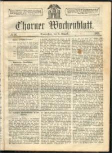 Thorner Wochenblatt 1863, No. 92