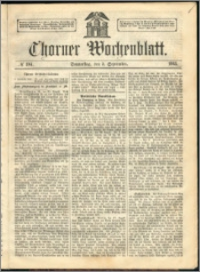 Thorner Wochenblatt 1863, No. 104