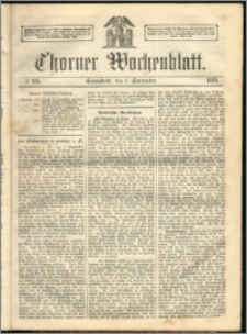 Thorner Wochenblatt 1863, No. 105
