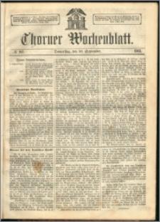 Thorner Wochenblatt 1863, No. 107