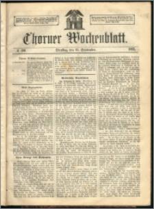 Thorner Wochenblatt 1863, No. 109