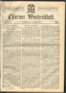 Thorner Wochenblatt 1863, No. 110