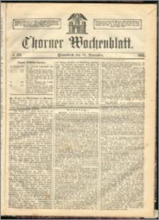 Thorner Wochenblatt 1863, No. 138 + Beilage