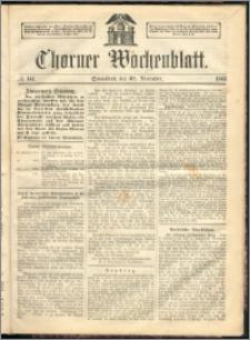 Thorner Wochenblatt 1863, No. 141 + Beilage