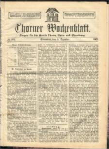 Thorner Wochenblatt 1863, No. 144 + Beilage