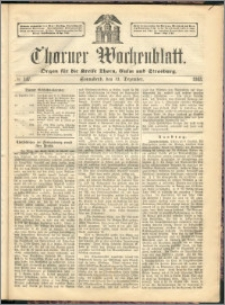 Thorner Wochenblatt 1863, No. 147 + Beilage