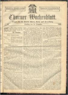 Thorner Wochenblatt 1863, No. 151 + Beilage