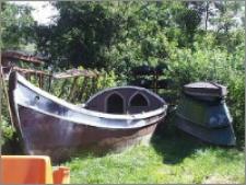 Bedeka - Replika XVII - wiecznej łodzi towarowej