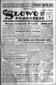 Słowo Pomorskie 1937.04.09 R.17 nr 81