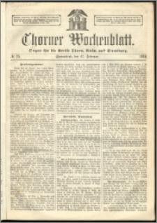 Thorner Wochenblatt 1864, No. 25 + Beilage