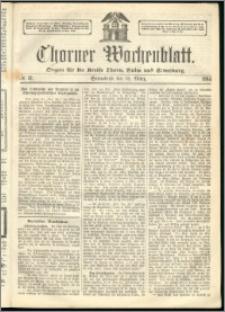 Thorner Wochenblatt 1864, No. 31 + Beilage