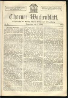Thorner Wochenblatt 1864, No. 33 + Extra Beilage