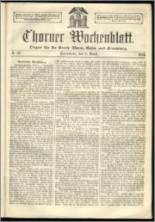 Thorner Wochenblatt 1864, No. 42 + Beilage