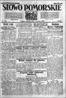 Słowo Pomorskie 1923.06.03 R.3 nr 124