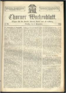 Thorner Wochenblatt 1864, No. 105