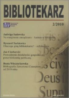 Bibliotekarz 2010, nr 2