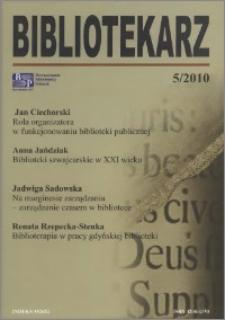 Bibliotekarz 2010, nr 5