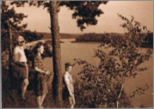 Nad jeziorem Bachotek