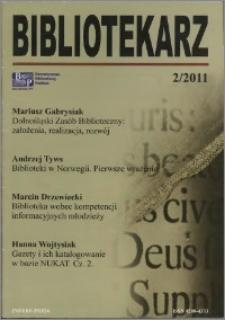 Bibliotekarz 2011, nr 2