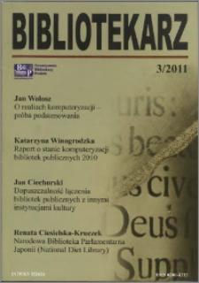 Bibliotekarz 2011, nr 3