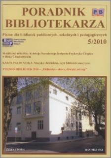 Poradnik Bibliotekarza 2010, nr 5