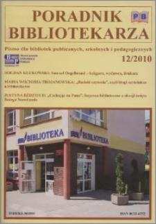 Poradnik Bibliotekarza 2010, nr 12