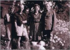 Pamiątkowe zdjęcie z państwem Witkowskimi