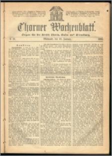 Thorner Wochenblatt 1865, No. 10
