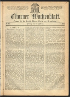 Thorner Wochenblatt 1865, No. 23