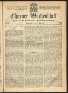 Thorner Wochenblatt 1865, No. 28 + Beilage