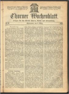 Thorner Wochenblatt 1865, No. 36 + Beilage