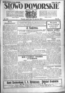 Słowo Pomorskie 1923.06.29 R.3 nr 146