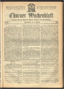 Thorner Wochenblatt 1865, No. 56 + Beilage
